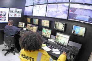 Entre os principais locais monitorados por câmeras estão as entradas da Cidade, na Avenida João Abel, Padre Anchieta e outras