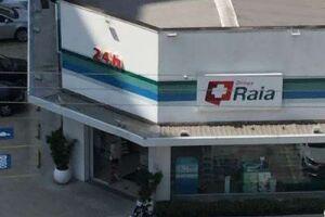 Roubo em farmácia em Santos