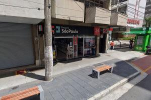 O roubo ocorreu nesta farmácia 24h na Avenida Floriano Peixoto, no Gonzaga