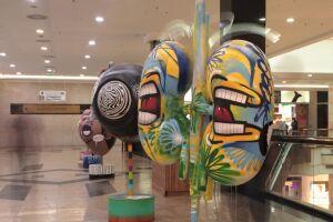 Exposição traz cinco esculturas no formato dos principais órgãos destinados à doação: coração, córneas, pulmão, fígado e rins