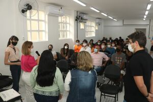 A vice-prefeita de Santos, Renata Bravo ressaltou a importância da parceira entre poder público e sociedade civil organizada