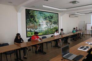 Curso para jovens em Santos