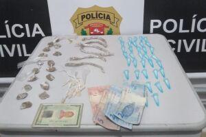 Entorpecentes foram encontrados dentro de sacola plástica, em São Vicente