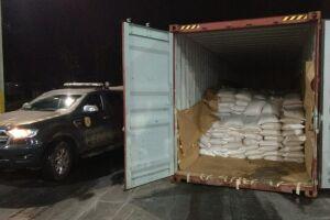 A Polícia Federal tem registrado aumento no número de apreensões de cocaína nos portos