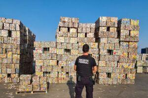 A ação é realizada pela Polícia Federal (PF), em conjunto com o Ministério Público Federal e a Receita Federal