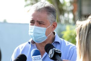 O prefeito Válter Suman (PSDB) foi preso na quarta-feira (15)