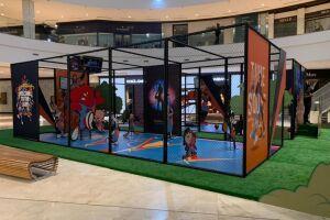 'Space Jam – Um novo Legado' chega à Santos com experiência imersiva no Shopping Parque Balneário