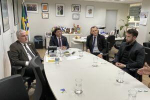Tenente Coimbra se reuniu com Carlos Brito, presidente da Agência Brasileira de Promoção Internacional do Turismo, da Baixada Santista