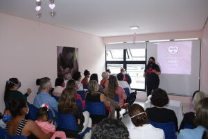 A programação foi realizada pela Secretaria Municipal de Saúde de Guarujá e da Coordenação de Saúde da Mulher