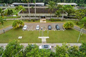 O Galpão da Educação, no Paço Municipal, fica localizado naRua Luiz Pereira de Campos, 901, no Centro