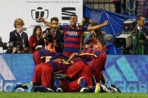 Com gol de Neymar, Barcelona vence e conquista Copa do Rei pela 28ª vez