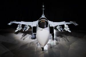 Futuro caça da FAB (Força Aérea Brasileira), a nova geração da aeronave Gripen foi apresentada nesta semana em Linköping, na Suécia
