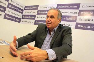 O jornalista e presidente da Ferrofrente, José Manoel Ferreira Gonçalves, explicou o trabalho da entidade
