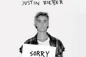 "O megahit ""Sorry' rendeu a Justin Bieber o topo das paradas"