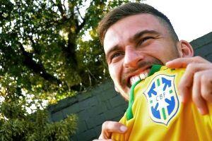 O meia-atacante Lucas Lima, do Santos, será o camisa 10 da seleção brasileira na Copa América Centenária