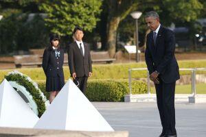 Barack Obama se tornou o primeiro presidente dos Estados Unidos a visitar Hiroshima desde o primeiro bombardeio atômico do mundo