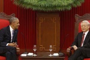 Ao lado do presidente vietnamita Tran Dai Quang, Obama afirmou que, apesar da liberação, as vendas de armas ainda terão de cumprir determinados requisitos