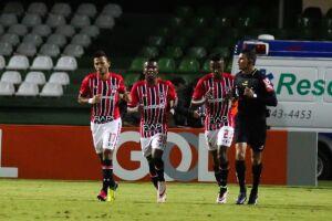 Rogério empatou para o Tricolor