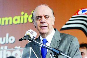 Serra, que tomou posse na semana passada, disse que uma das prioridades de sua gestão, em curto prazo, será a intensificação das relações com a Argentina