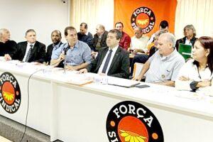 Ministro Ronaldo Nogueira se encontrou com sindicalistas de todo País na sede da Força Sindical