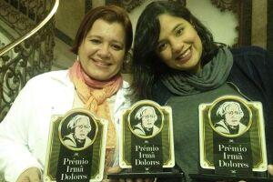 A série Além da Fé foi produzida pelos jornalistas Bruno Gutierrez, Daniela Origuela (esq) e Luana Fernandes (dir)