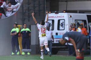 Apesar dos gols de Calleri, o São Paulo não fez uma grande partida na cidade de Brasília