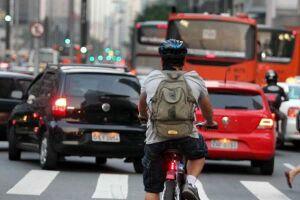 Os ciclistas de São Paulo podem ser recompensados financeiramente por usarem a bicicleta para ir ao trabalho