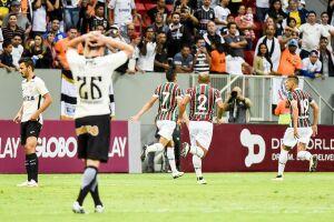 O gol foi marcado por Cícero, no rebote da penalidade batida por ele próprio