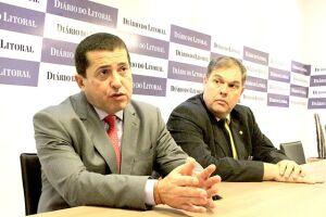 O deputado e secretário estadual do PMDB disse que não pode ser contrário à decisão dos membros do partido em Santos
