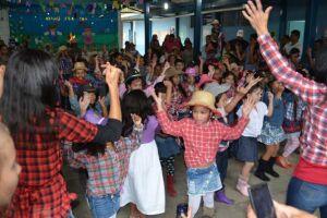 Festas Juninas são boas opções de lazer nas escolas municipais