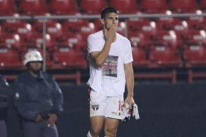 Calleri não conseguia anotar um gol desde a vitória sobre o Strongest, no dia 21 de abril, pela Libertadores