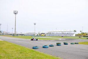 Palco de corridas, kartódromo segue fechado em Praia Grande