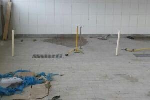 A Prefeitura alega que falta pouco para acabar as obras