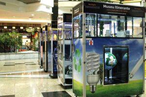 Praiamar Shopping recebe, de 17 a 30 de junho, a exposição itinerante que conta a história da iluminação