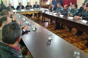 Secretário afirmou que o Estado vai dar uma pronta resposta à afronta da criminalidade