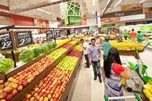 O setor de alimentos apresentou ligeiro decréscimo