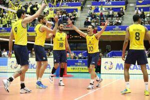 Brasil cai em grupo forte com EUA, França e Itália no vôlei masculino da Rio-2016