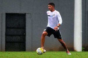 Ex-Audax, o volante Yuri participou, ao lado dos reservas do Peixe, de jogo-treino contra o Santos B