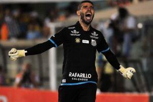 O Santos acertou as renovações contratuais do goleiro Vanderlei e do volante Renato