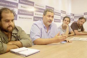 Na redação do DL, junto com artistas da região, Chico Nogueira havia adiantado que os vereadores estariam envolvidos na luta