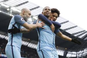 Após o início arrasador no Manchester City, Gabriel Jesus não terá a oportunidade de jogar pelas oitavas de final da Liga dos Campeões
