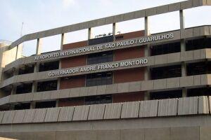 O homem foi preso no Aeroporto Internacional de Guarulhos