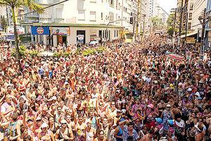 Maior bloco do Estado desfila pela orla do Gonzaguinha a partir das 10h