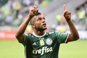 Borja marcou gol logo em seu primeiro jogo pelo Verdão