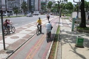 Atualmente, a Baixada Santista tem cerca de 300 km de malha cicloviária, porém a meta é chegar aos 500 Km