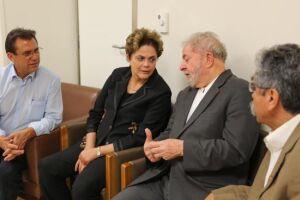 Dilma prestou solidariedade a Lula