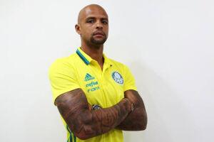 Na última semana, o clube paulista cedeu em garantia na ação os direitos econômicos do volante Felipe Melo