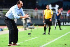 Rogério Ceni venceu a primeira no Morumbi como treinador