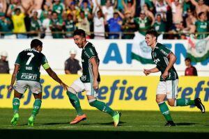 Dudu, Willian e Raphael Veiga brilharam na goleada do Palmeiras