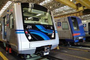 Um trem da Linha 5 – Lilás do metrô descarrilou por vola das 5h de hoje (21) na zona sul da capital paulista